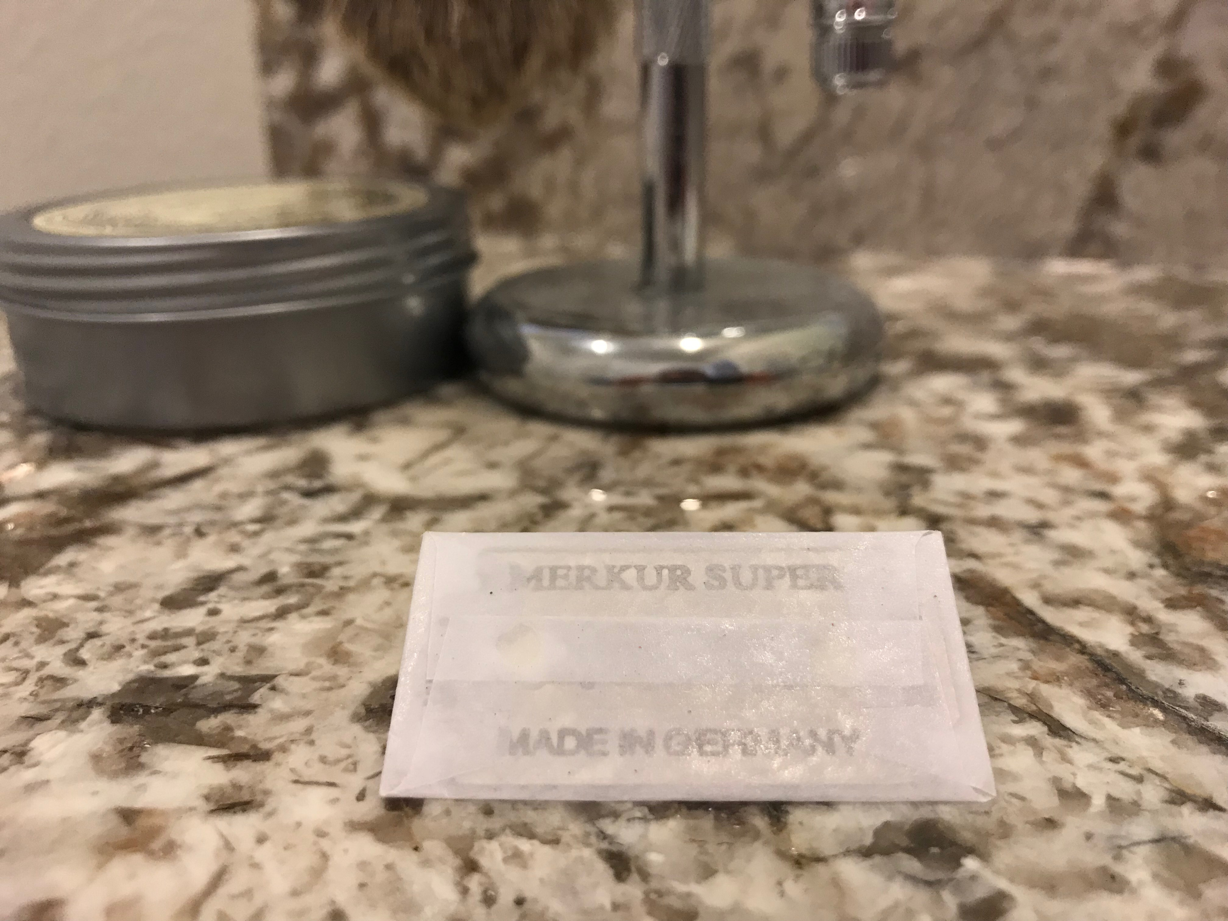 Merkur Double Edge Razor Blades Review